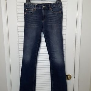 Gap 1969 Jeans Blue Pants Perfect Boot 28L 30X33